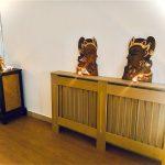 Detalles estéticos en espera para masajes tailandeses