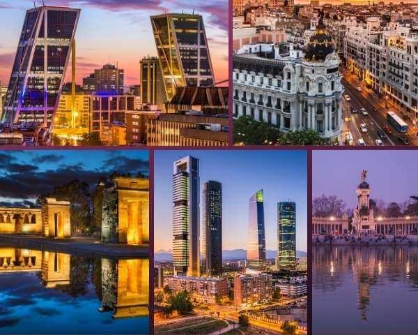 mejores lugares en Madrid